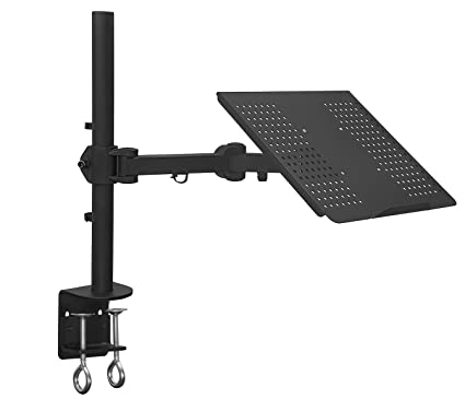 Fabulous Mount It Laptop Notebook Desk Mount Stand With Full Motion Height Adjustable Holder Articulating Vented Cooling Platform Fits Up To 17 Inch Home Interior And Landscaping Synyenasavecom