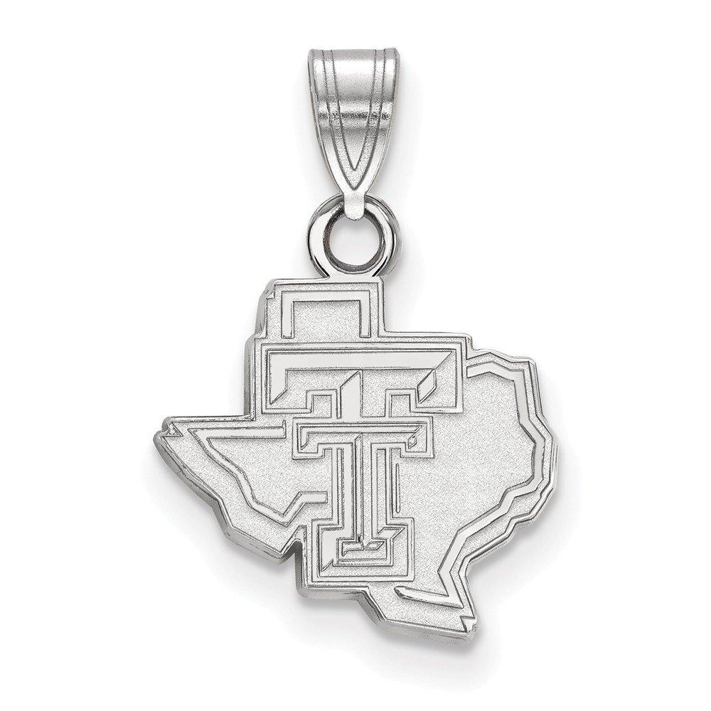 FB Jewels Sterling Silver LogoArt Auburn University Small Pendant