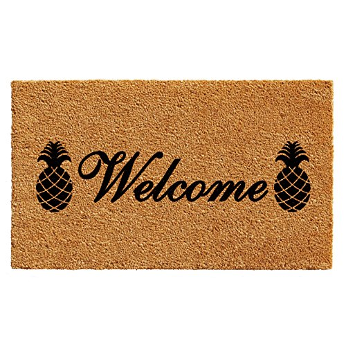 Calloway Mills 102501729 Welcome Pineapples Doormat, 17