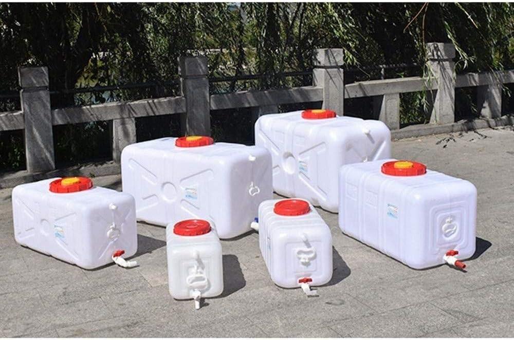 家庭用水バケツ 200L大容量環境保護プラスチックバケツ水平正方形水貯蔵タンクの水タンクをカバーとバルブ 家庭用水タンク