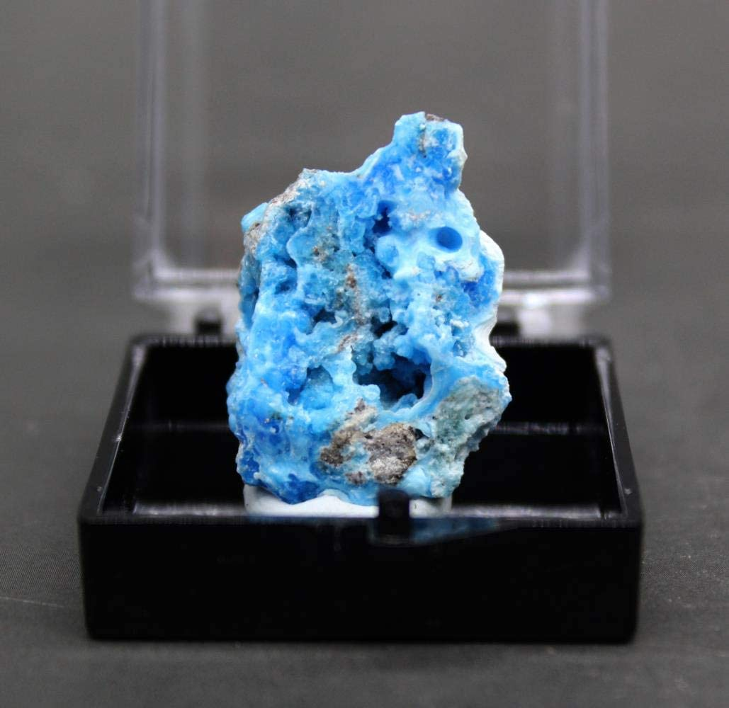 100% Natural Blue Gibbsite Mineral Specimen Stones and Crystals Healing Crystals Quartz Gemstones Free Box,Style 1 Style 3