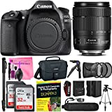 Canon EOS 80D DSLR Camera Advanced Photo and Travel Bundle + Canon EF-S 18-135mm f3.5-5.6 Lens + Camera Works Starter Kit