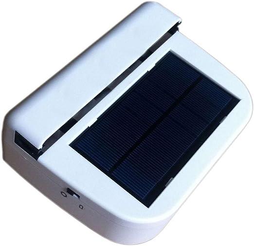 Ventilador con Energía Solar Ventilador De La Ventana De La Casa ...