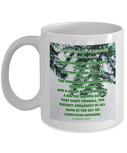 Coffee Christmas Morning.Amazon Com Christmas Coffee Mug Gift Christmas Morning