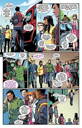 Mighty Morphin Power Rangers Year One: Deluxe by BOOM! Studios (Image #3)