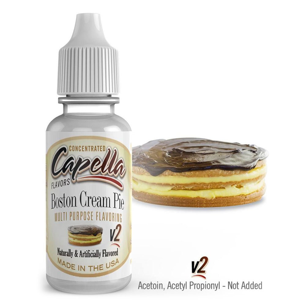 Capella Aroma 13ml DIY Boston Cream Pie V2: Amazon.es: Alimentación y bebidas