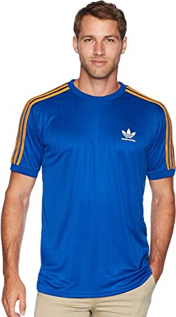 f61150c1ed6ed adidas Skateboarding Men s Clima Club Jersey Collegiate Royal Tactile  Yellow Medium