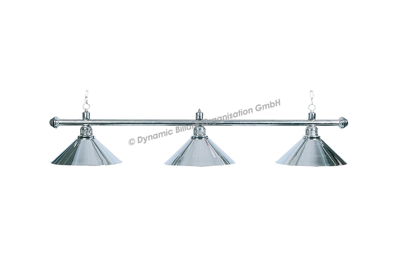 112 cm /Ø 35 cm Classic Billard Lampe Blacklight 3 Schirme schwarz