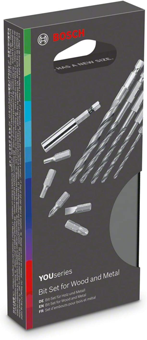Bosch 1600A01D63 20-Piece bit Set Accessory for YOUseries Drill