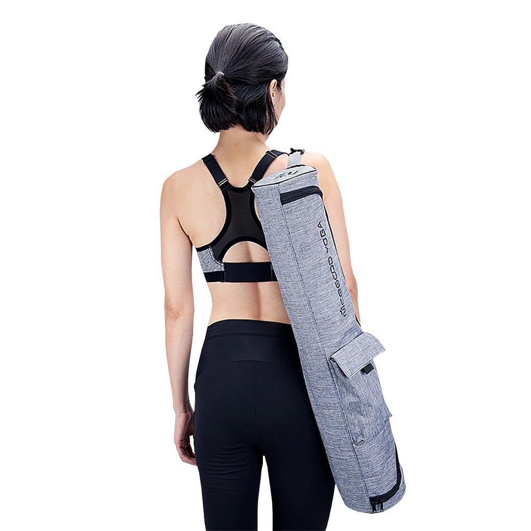 acmede® Bolsa para alfombra de Yoga transporte y cremallera ...