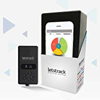 LETSTRACK HUMANISING TECHNOLOGY UNO Vehicle GPS Tracking Device for Car, Bus and Truck (Black)