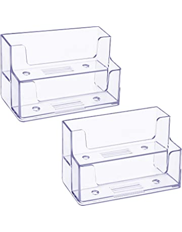 Business Card Holders Stationery Office Supplies Amazon