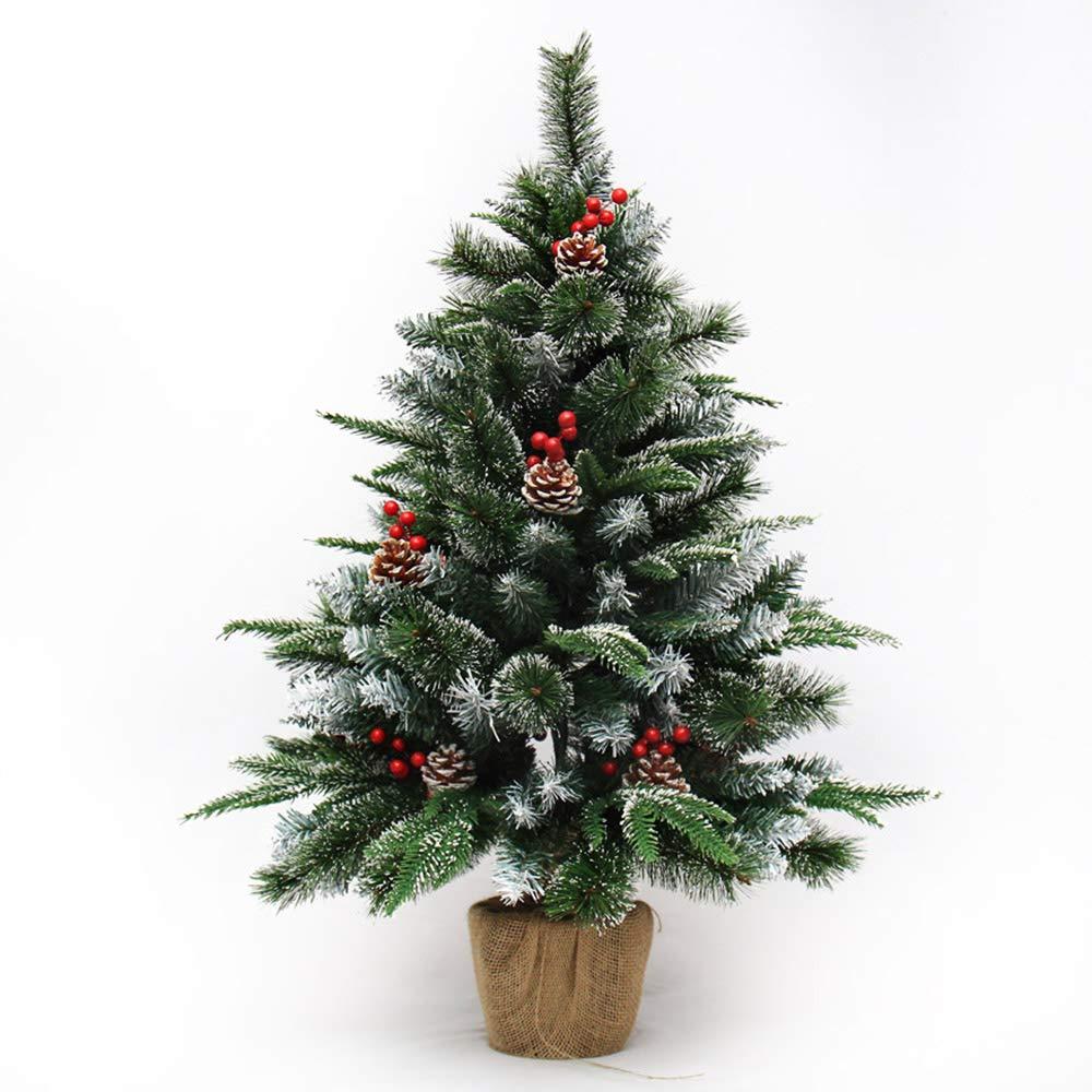 MILAYA JI Bin Shop® Weihnachtsbaum Bonsai, Tannenzapfen Weihnachtsschmuck, 60cm   90cm Hoch  (größe   60cm)