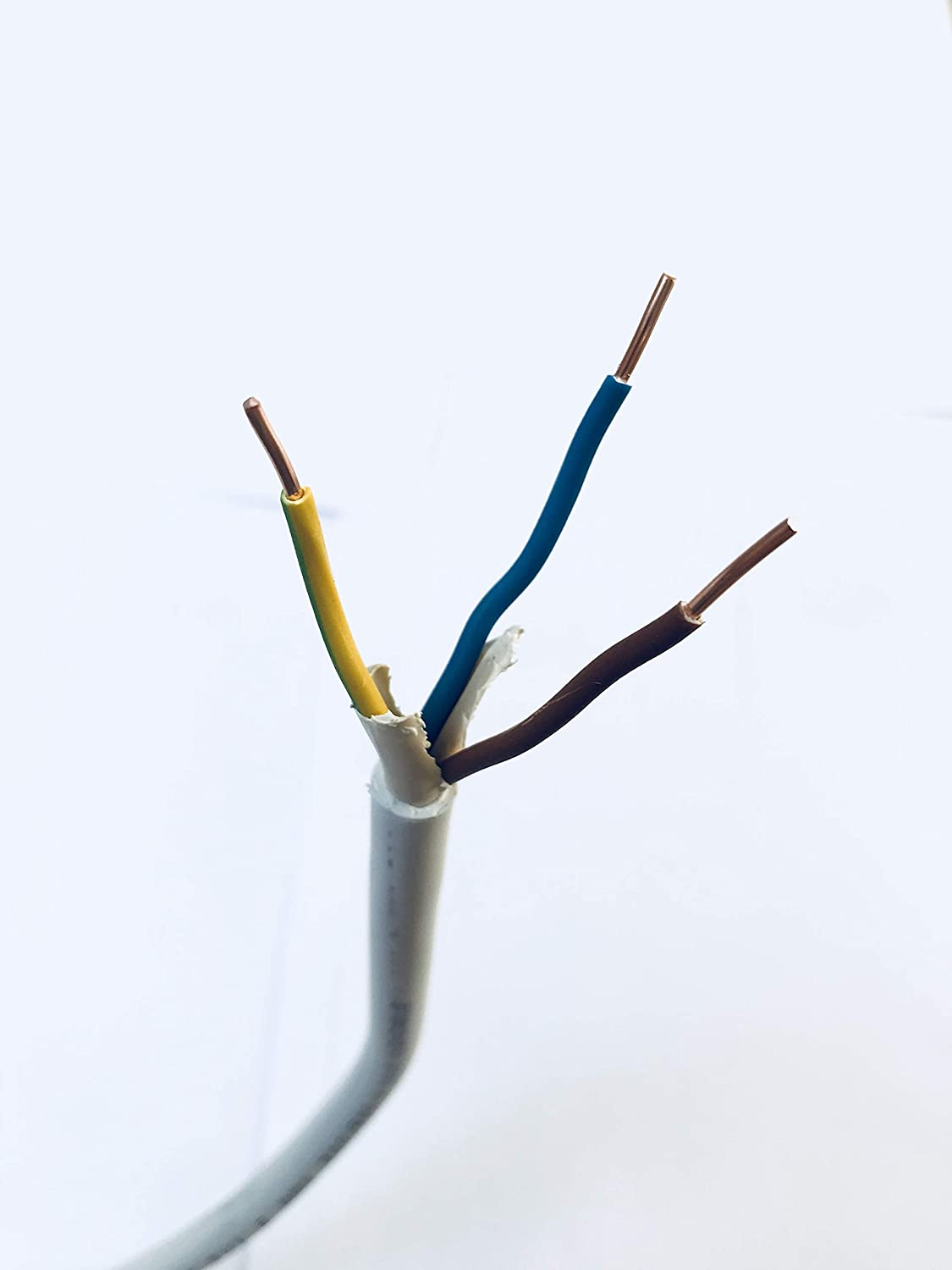 Installation cable NYM-J 3 x 1,5 mm Gray colour 100m