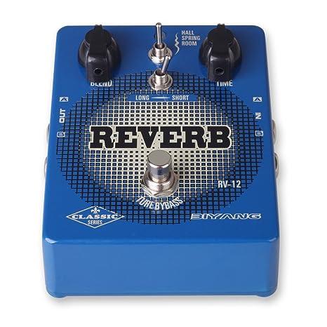 RV-12 Biyang-Pedal de efectos para guitarra eléctrica, diseño de ...