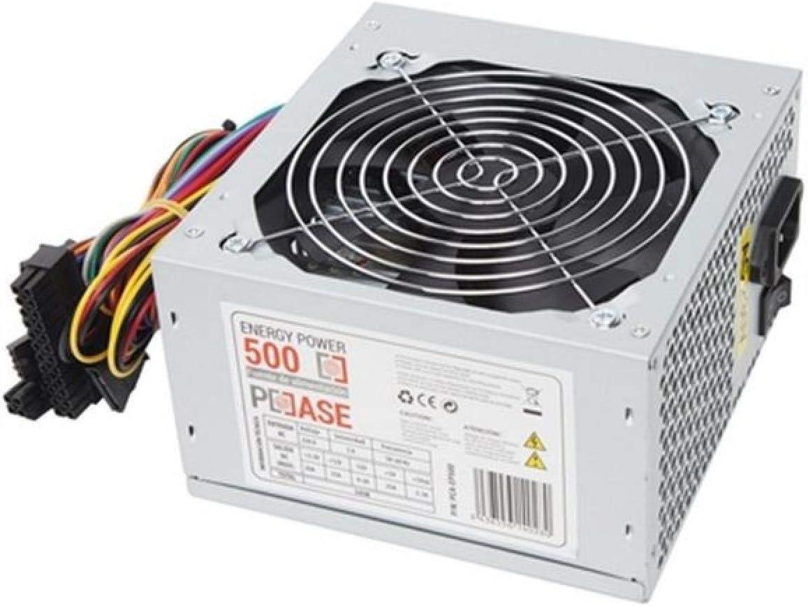 PCCASE EP-500 Unidad de - Fuente de alimentación (500 W, 220 V, 50 ...