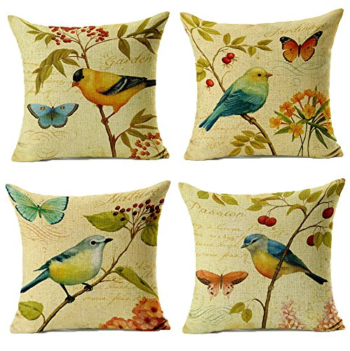 WOMHOPE Pcs Countryside Decorative Pillowcase product image