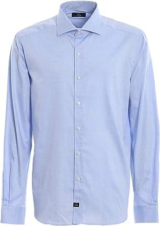 Fay Camisa - Azul Claro: Amazon.es: Ropa y accesorios