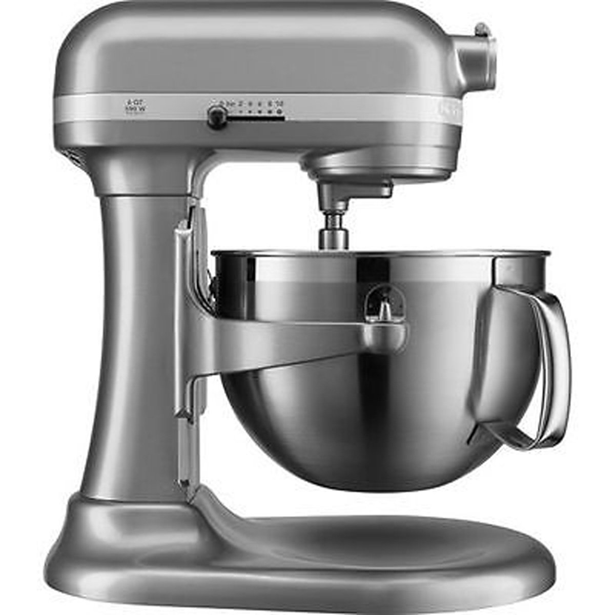 KitchenAid KP26M9XCCU 6-Quart Bowl-Lift Professional Stand Mixer, Contour Silver