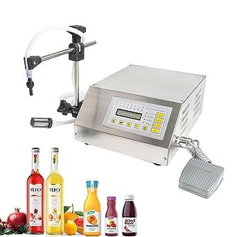 Amazon.com: Máquina de llenado líquido automático digital de ...
