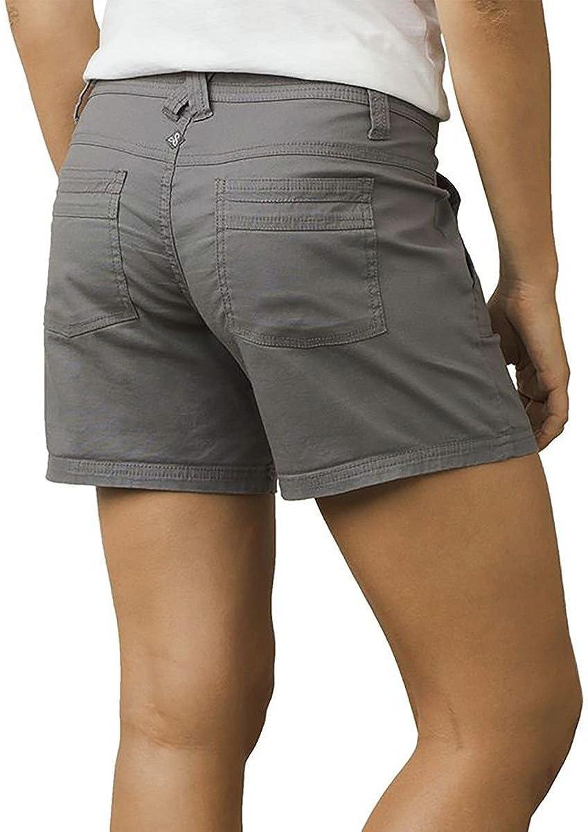 prAna Tess 5 Inseam Shorts Size 0 Gravel