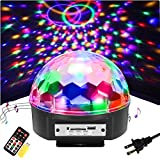 SOLMORE 9 Color LED Disco Ball Party Lights Strobe Light 18W Sound Activated DJ Lights Stage Lights for Club Party Gift Kids Birthday Wedding Decorations Home Karaoke Dance Light (with Remote)