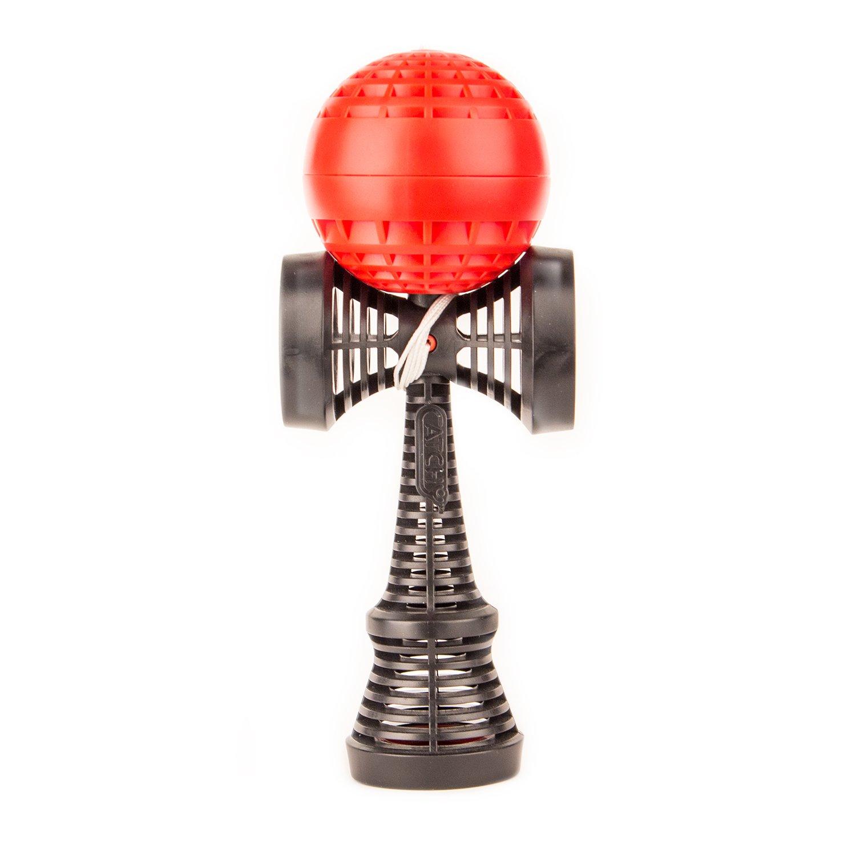 Jouet Traditionnel Japonais, du D/ébutant Au Professionnel, Design Unique YoYo Factory Catchy AIR Kendama Rouge
