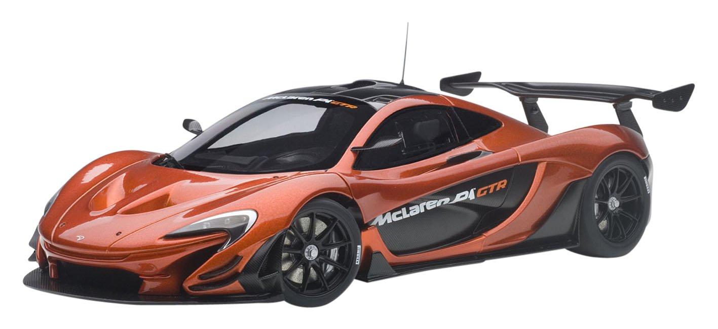 McLaren P1 GTR Volcano Orange 1/18 Model Car Autoart 81545