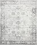 Unique Loom 3134033 Sofia Collection 8 Feet (8' x) Traditional Oriental Distressed Vintage Area Rug, 8 x 10, Gray