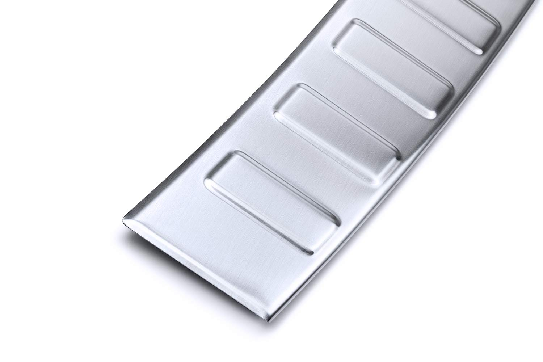 Color:Plata tuning-art L382 Combi Protecci/ón para Parachoques Acero INOX