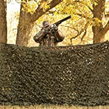 Red Rock Outdoor Gear Big Game Camouflage Field Series Nets for Hunting Blinds, Matte Brown/Matte Green