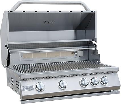Amazon.com: Rejas de Kokomo 4 quemador construido en Grill ...