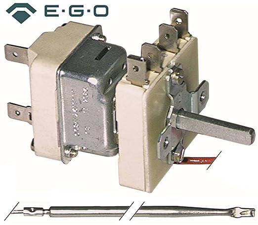 Termostato EGO Tipo 55.19639.800 Bartscher, Electrolux, alpeninox