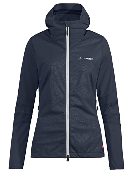 4409891365 VAUDE Wo Croz Softshell, Giacca Donna, Eclipse, 40: Amazon.it ...