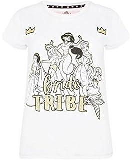Primark Ladies Womens Girls Disney Bride Tribe T Shirt Hen Party Bride to BE Wedding UK