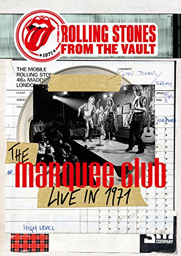 The Rolling Stones - From The Vault The Marquee Club Live In 1971+The Brussels Affair 1973 (BD+3CDS) [Japan LTD BD] GQXS-90009 by