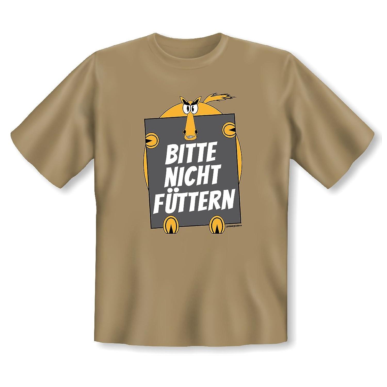 T-Shirt ::: Bitte nicht füttern ::: Hemd mit flottem Spruch