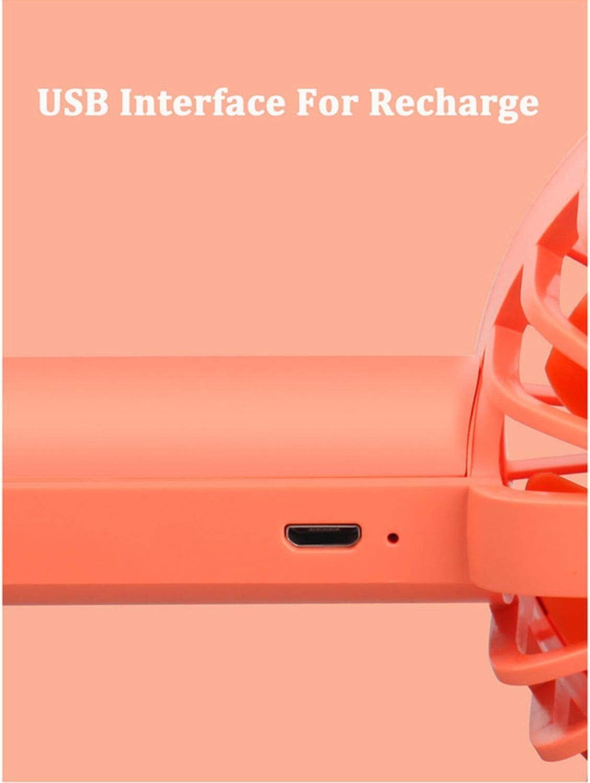 Handheld Small Fan Mijia Vh Portable Handheld Mini USB Powered Desk Small Fan Outdoor Travel Blue//Green//Orange,Green