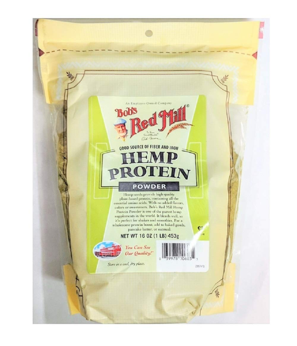 Bob's Red Mill Hemp Protein Powder 16 Ounces 2 Pack