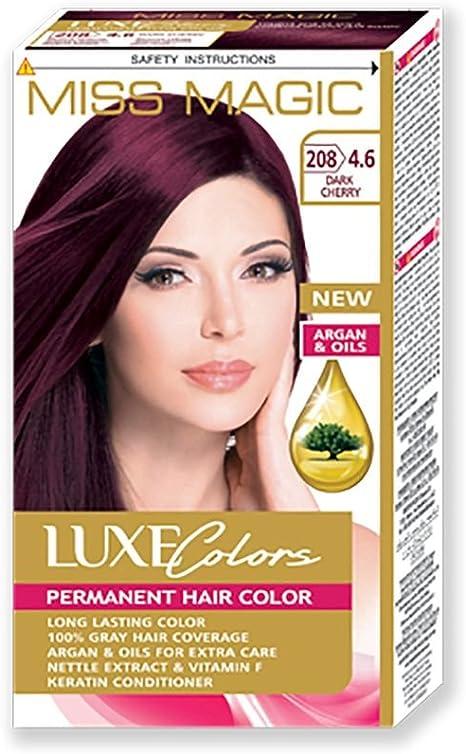 Tinta para pelo Miss Magic Tinte Rojo Cereza Oscuro Hair ...