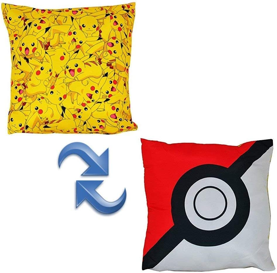 Pokemon Catch Single Duvet Set Repeat Pattern Design
