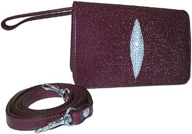Drumsurn Imports Genuine Stingray Leather Elegant Clutch