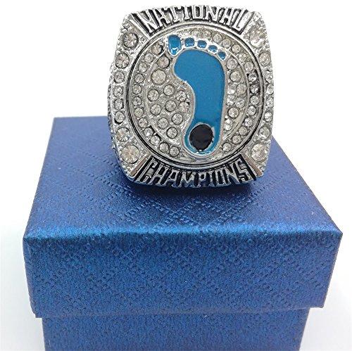 North Carolina Tar Heels Ring (TuoYu 2017 North Carolina Tar Heels National Championship Rings Trophy Prize (14))