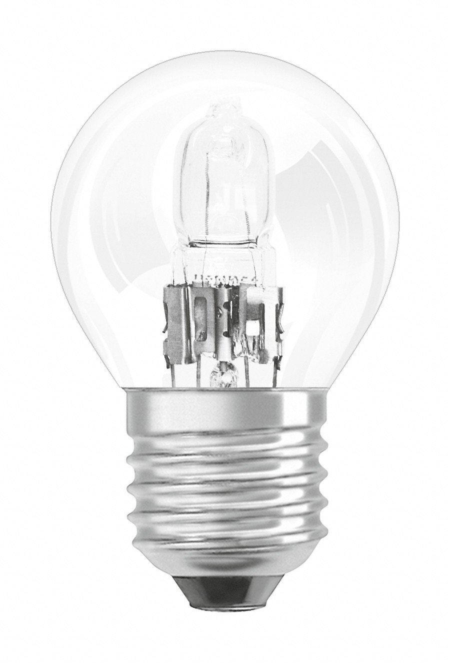 Osram Halogen-Lamp/Classic P/E27-Socket/Dimmable/20 W - 25 W Replacement/Warm White, 2700 K