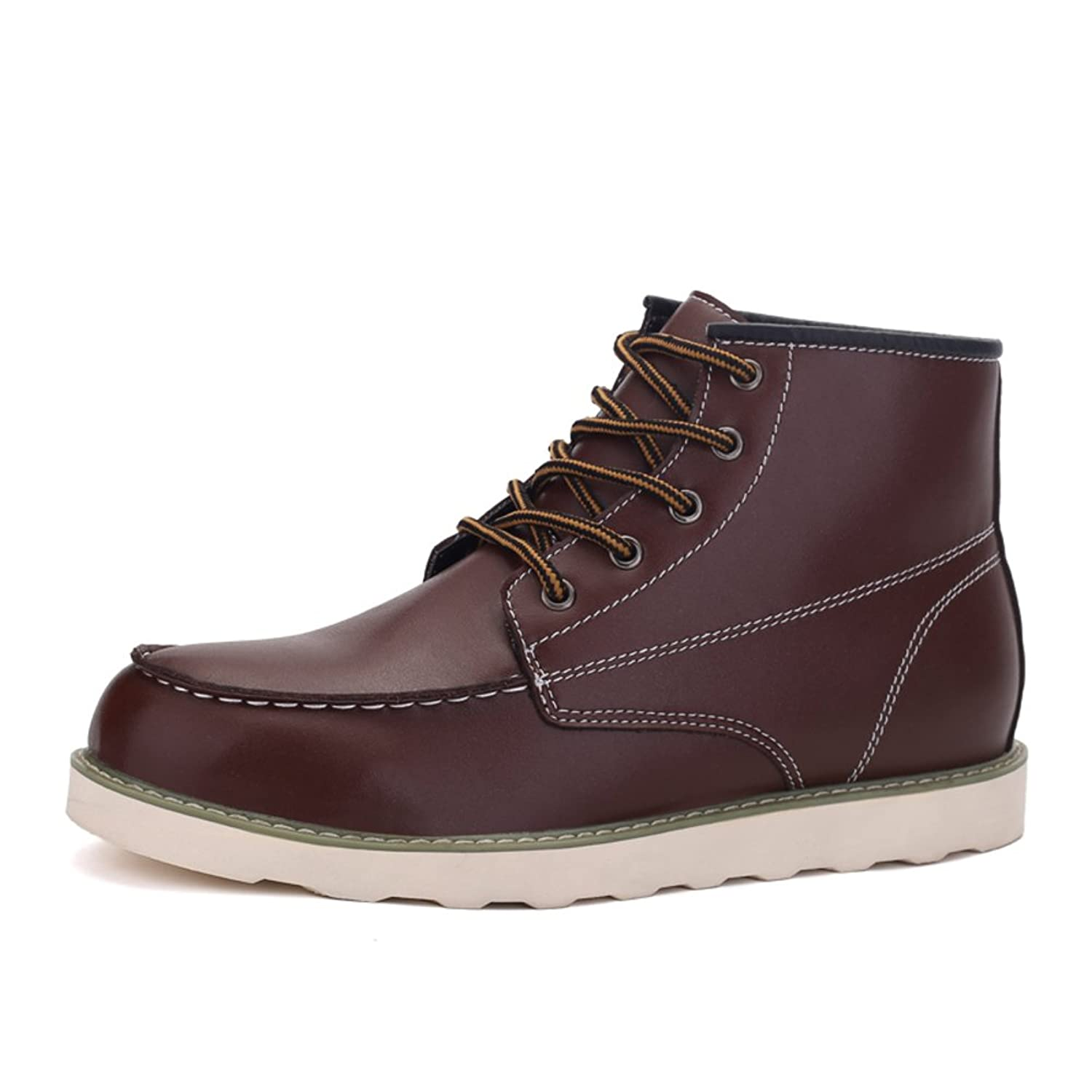 Martin fashion boots/Autumn mens casual shoes/Short tube currents high help shoes/ desert boots with round head