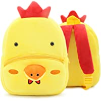 Children Toddler Preschool Backpack Plush Animal Cartoon Backpack Baby Kids School Satchel Travel Lunch Bags
