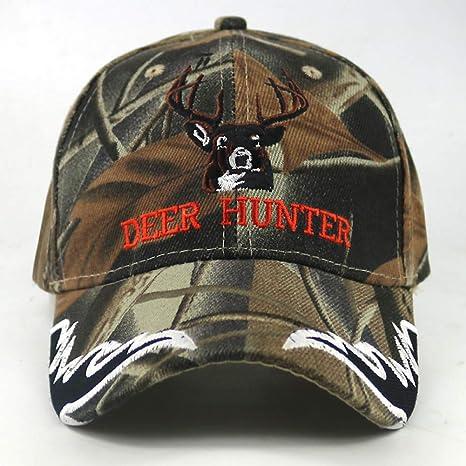 JKYJYJ Nuevo Deer Hunter Gorra De Béisbol Elk Bordado Ejército ...