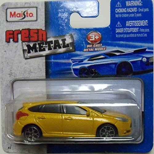 Maisto Fresh Metal Die-Cast Vehicles ~ 2013 Ford Focus ST (Mustard Yellow) & Maisto Fresh Metal Die-Cast Vehicles ~ 2013 Ford Focus ST (Mustard ... markmcfarlin.com
