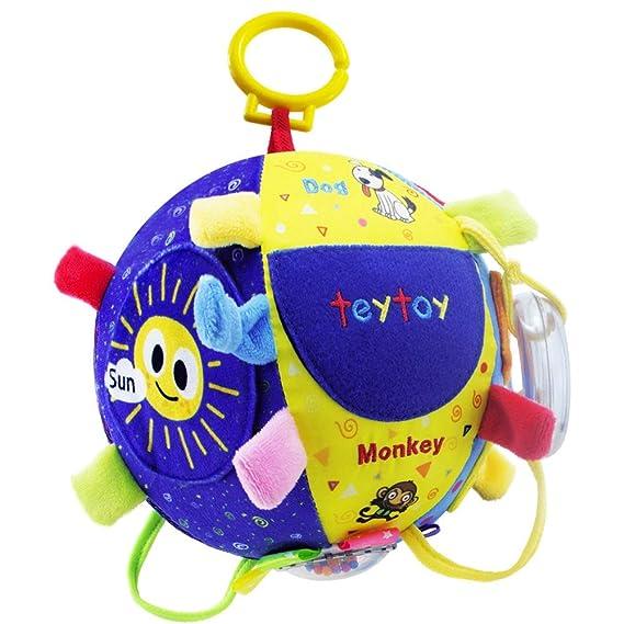 Teytoy juguetes para bebés, sonajero colgante de bola con ...