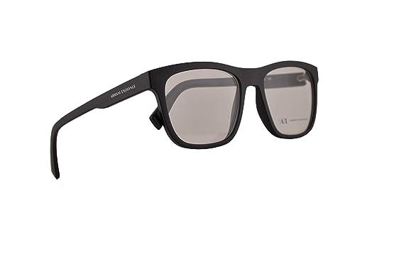 Amazon.com: Armani Exchange AX3050 - Gafas de ojo (53-18-140 ...
